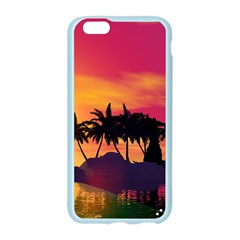 Wonderful Sunset Over The Island Apple Seamless iPhone 6/6S Case (Color)