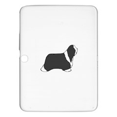 Bearded Collie color silhouette Samsung Galaxy Tab 3 (10.1 ) P5200 Hardshell Case