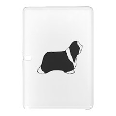 Bearded Collie color silhouette Samsung Galaxy Tab Pro 12.2 Hardshell Case