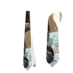 Beautiful Horse With Water Splash Neckties (One Side)