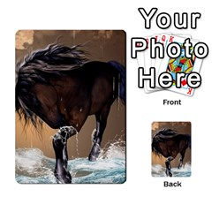 Beautiful Horse With Water Splash Multi-purpose Cards (Rectangle)