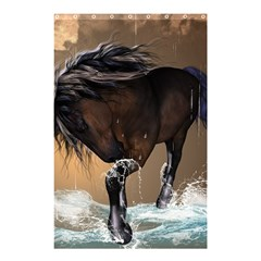 Beautiful Horse With Water Splash Shower Curtain 48  x 72  (Small)