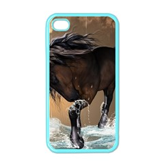 Beautiful Horse With Water Splash Apple iPhone 4 Case (Color)