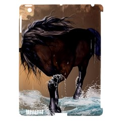 Beautiful Horse With Water Splash Apple iPad 3/4 Hardshell Case (Compatible with Smart Cover)