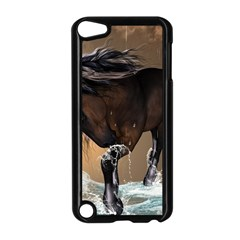 Beautiful Horse With Water Splash Apple iPod Touch 5 Case (Black)