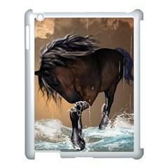 Beautiful Horse With Water Splash Apple iPad 3/4 Case (White)