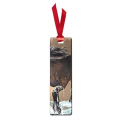 Beautiful Horse With Water Splash Small Book Marks