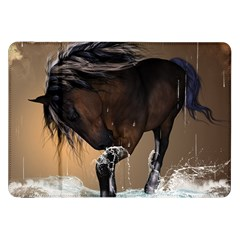 Beautiful Horse With Water Splash Samsung Galaxy Tab 8.9  P7300 Flip Case