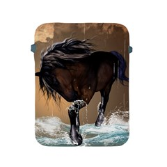 Beautiful Horse With Water Splash Apple iPad 2/3/4 Protective Soft Cases