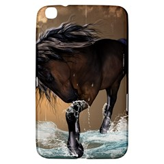 Beautiful Horse With Water Splash Samsung Galaxy Tab 3 (8 ) T3100 Hardshell Case