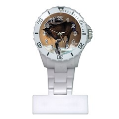 Beautiful Horse With Water Splash Nurses Watches