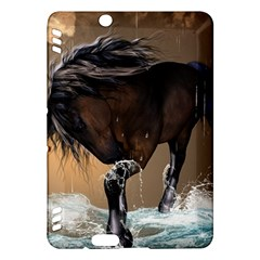 Beautiful Horse With Water Splash Kindle Fire Hdx Hardshell Case