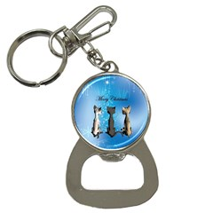 Merry Chrsitmas Bottle Opener Key Chains