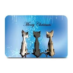 Merry Chrsitmas Plate Mats