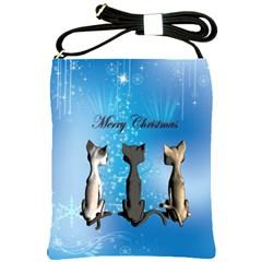 Merry Chrsitmas Shoulder Sling Bags