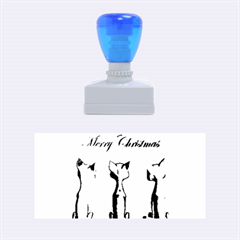 Merry Chrsitmas Rubber Stamps (medium)
