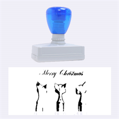 Merry Chrsitmas Rubber Stamps (large)