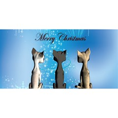 Merry Chrsitmas You Are Invited 3d Greeting Card (8x4)