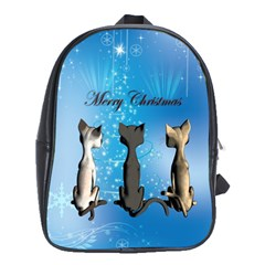 Merry Chrsitmas School Bags (XL)