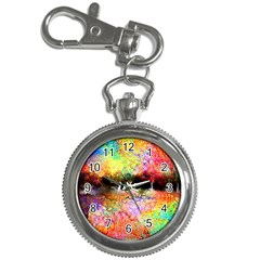 Colorful Tree Landscape Key Chain Watches
