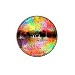 Colorful Tree Landscape Hat Clip Ball Marker (4 pack)