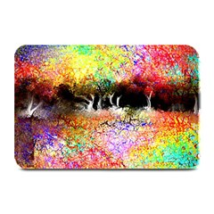 Colorful Tree Landscape Plate Mats