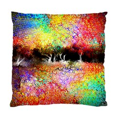 Colorful Tree Landscape Standard Cushion Case (One Side)