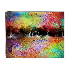Colorful Tree Landscape Cosmetic Bag (XL)