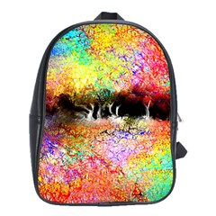 Colorful Tree Landscape School Bags(large)