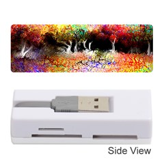 Colorful Tree Landscape Memory Card Reader (Stick)