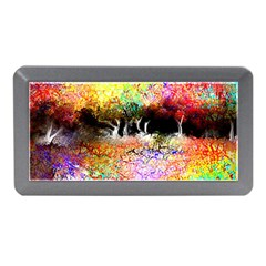 Colorful Tree Landscape Memory Card Reader (mini)