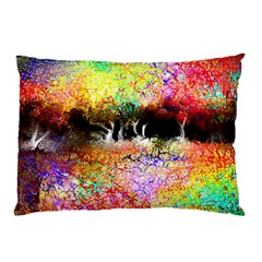 Colorful Tree Landscape Pillow Cases (two Sides)