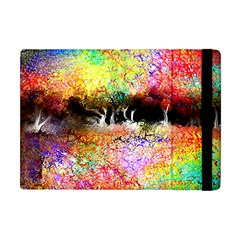 Colorful Tree Landscape Apple Ipad Mini Flip Case
