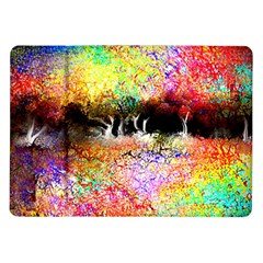 Colorful Tree Landscape Samsung Galaxy Tab 10.1  P7500 Flip Case