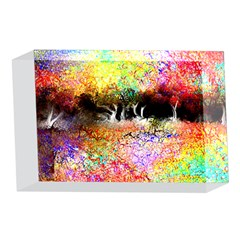 Colorful Tree Landscape 4 x 6  Acrylic Photo Blocks