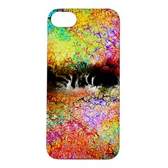 Colorful Tree Landscape Apple Iphone 5s Hardshell Case