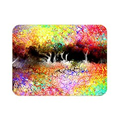 Colorful Tree Landscape Double Sided Flano Blanket (mini)