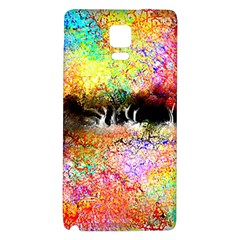 Colorful Tree Landscape Galaxy Note 4 Back Case