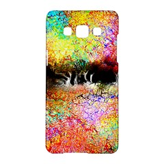 Colorful Tree Landscape Samsung Galaxy A5 Hardshell Case