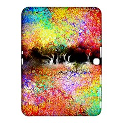 Colorful Tree Landscape Samsung Galaxy Tab 4 (10 1 ) Hardshell Case
