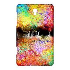 Colorful Tree Landscape Samsung Galaxy Tab S (8 4 ) Hardshell Case