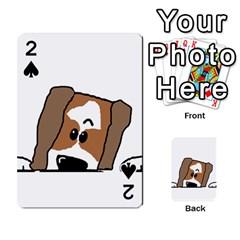 Peeping Shih Tzu Playing Cards 54 Designs