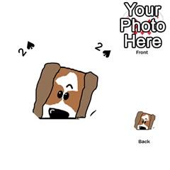 Peeping Shih Tzu Playing Cards 54 (Heart)