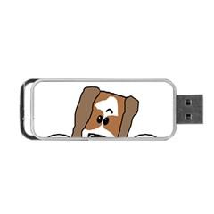 Peeping Shih Tzu Portable USB Flash (One Side)