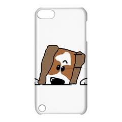 Peeping Shih Tzu Apple iPod Touch 5 Hardshell Case with Stand