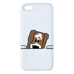 Peeping Shih Tzu Apple iPhone 5 Premium Hardshell Case