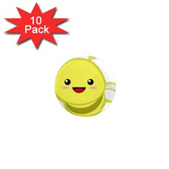Kawaii Bee 1  Mini Magnet (10 Pack)