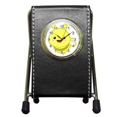 Kawaii Bee Pen Holder Desk Clocks