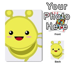 Kawaii Bee Multi-purpose Cards (Rectangle)