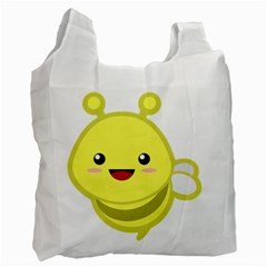 Kawaii Bee Recycle Bag (Two Side)